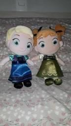 Bonecas Frozen Anna e Elsa Baby