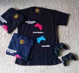 Camiseta Game da Inclusão