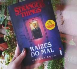 Livro Stranger Things, Raízes do Mal. Usado (Português)