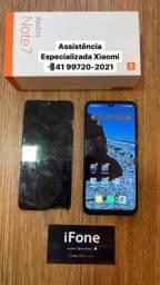 Título do anúncio: Quebrou a tela do seu Xiaomi? Danificou display? Nos trocamos! Redmi Note 7