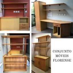 Conj. de Móveis Florense em Ótimo Estado