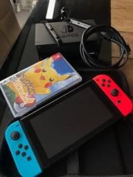 Título do anúncio: Nintendo Switch V2 -Azul/Neon