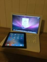 MacBook white mais iPad 2