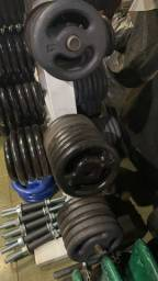 Anilha ferro 1 2 3 4 5 10 15 20 25kg