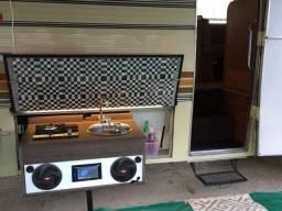 Motor Home cozinha externa