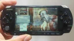 Sony psp3010 cartão 64gb c jogos R$250