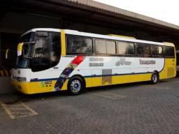 Ônibus rodoviário Busscar 340 motor Scania K 124/360 CV 46lug soft ano 2000