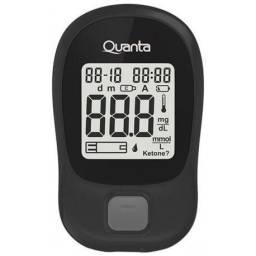 Medidor de Glicose Quanta qtgli200 600MG/M 300/Testes-Preto