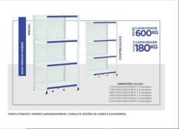Rack Premium capacidade para 180 á 600 Kl Base