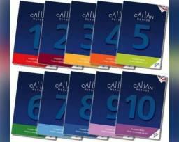 Livros Callan Method 1,2,3,4,5,6,7,8 e 9
