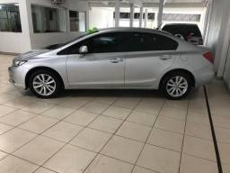 Honda Civic LXR 2.0 - Prata - Automático - 2014