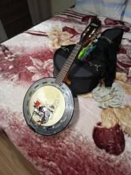 Banjo Luthier Olivier com Case