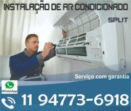 Inalação de Ar Condicionado Split a partir de R$ 250,00