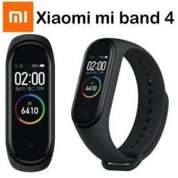 Smartwatch Xiaomi Mi Band 4 Oled Preto Original + Película Protetora Gel