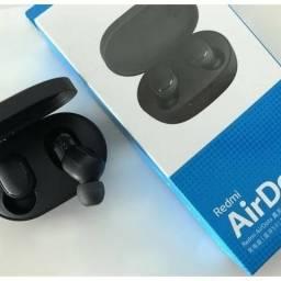 Fone xiaomi novo 5.0 muito bom preto com caixa que carrega