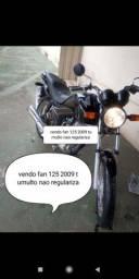 Vendo fan 125 2009