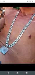 Cordão de prata 1x1 200g