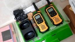 Radio comunicador intelbras waterproof rc4100