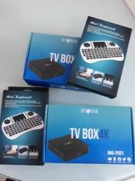 Tv Box 32GB iNova e Mini Teclado