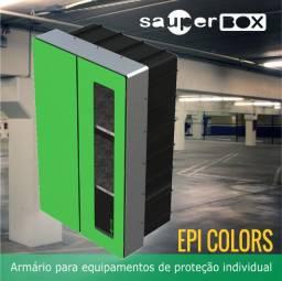 Armário / Abrigo Epi Colors 90x56x35 - Moldura 122 Gz