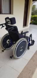 Cadeira de rodas Ortobras - Reclinável
