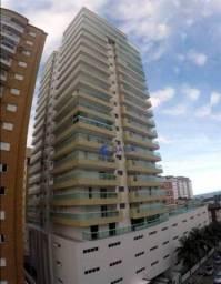 Apartamento com 2 dormitórios para alugar, 88 m² por R$ 2.460/mês - Tupi - Praia Grande/SP