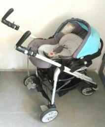 Trio CHICCO for me (somente bebê conforto + base carrinho)