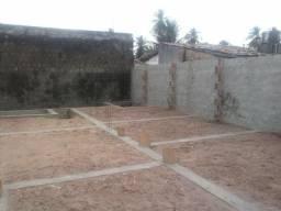 Vendo excelente terreno já com base e murado em Tamandaré