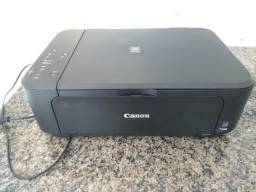 Impressora multifuncional Canon Jato de Tinta com Wi-Fi