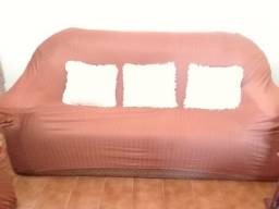 Vendo sofás e armário usados