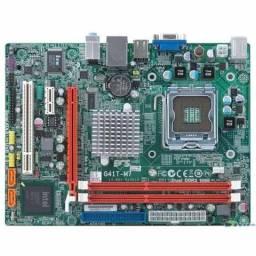 Placa Mãe G41 DDr3 + Cooler + Intel Pentium Dual Core E5800 3.2 GHz