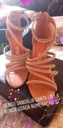 Vendo sandália Santa lolla numeração 37