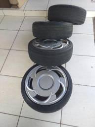 Rodas orbital com pneus aro 17