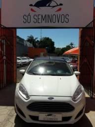 Ford fiesta 1.6 automático completo - 2017