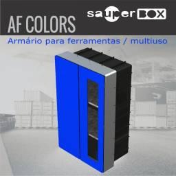 Armário Para Ferramentas Af Colors 90x56x35 - Moldura 122 Gz
