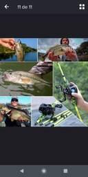 Conjunto de Pesca Importado - PRA LEVAR HOJE R$ 279,90