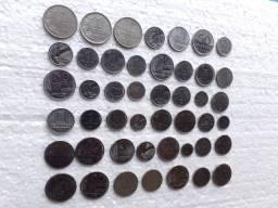 Oportunidade Lote com 46 moedas com datas diferentes