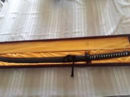 Espada katana aço carbono 1660