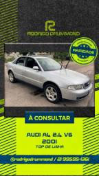 Audi A4 2.4 V6 2001 Raridade com 68mil km