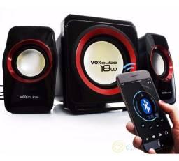 Caixa Som Home Bluetooth 18w Subwoofer Usb Sd VC- G500Bt - Imperium Informatica