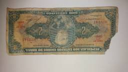 Cédulas antigas nacionais e moedas