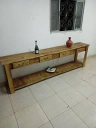 Aparadores rústico de madeira preço especial