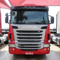 Scania R440 - 2013/13 - 8x2 I Único dono (BAP 2615)