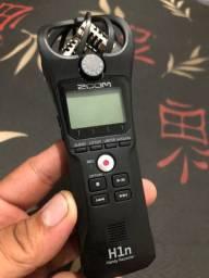 Zoom H1n microfone profissional