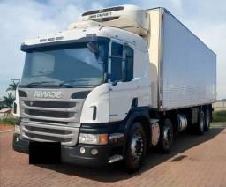 Caminhão Scania Bitruck P-310 8X2 Ano 2014