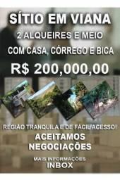 SÍTIO EM VIANA 200 mil URGENTE