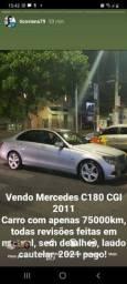 Mercedes Benz C180 CGI ÚNICA