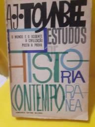 estudos de história contemporânea_a. j. toynbee R$ 15,00