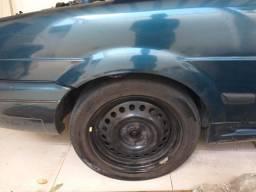 Roda aro 16+ calotas+pneus