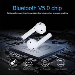 Fones V9 bluetooth e visor digital